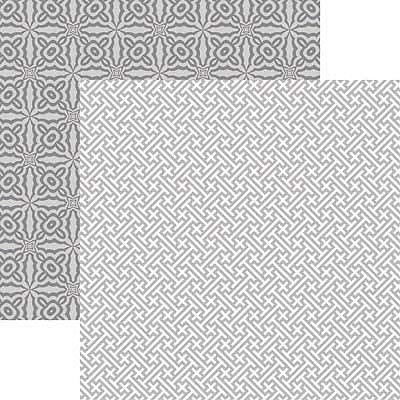 Fifth Shades of Gray Right Angles Scrapbook paper