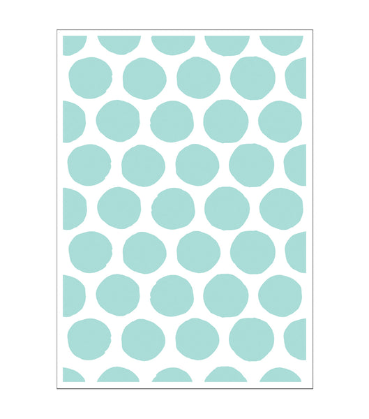 Brushed Dot Polka Dot Embossing Folder