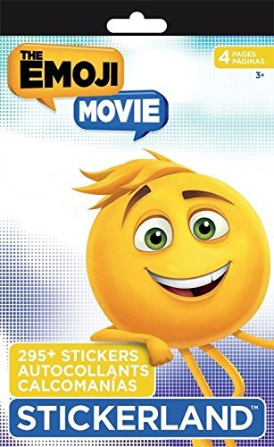 Emoji Movie Sticker Book Kids Stickers 295 Stickers