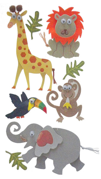 Zoo Animals Essentials Sticker, Large