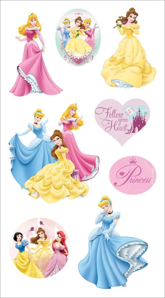 3d Disney Princess Stickers Essentials