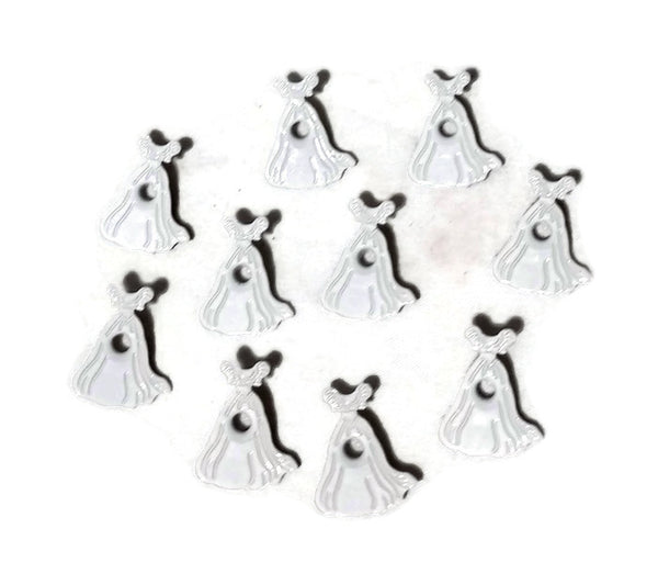 Wedding Gown Brides Dress Eyelets