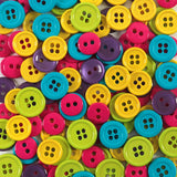 Fun Bright Colored Round Buttons by Favorite Findings