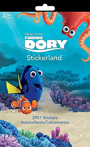 Finding Dory Stickerland Sticker Pad 295+ Stickers
