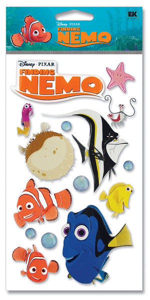 Finding Nemo Stickers 3d