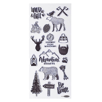 Forest Friends Stamp Set Clear Acrylic