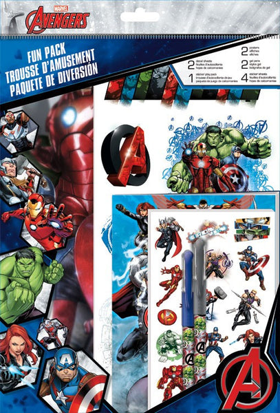 Fun Packs Stickers - Marvel Avengers Assemble Toys Decals