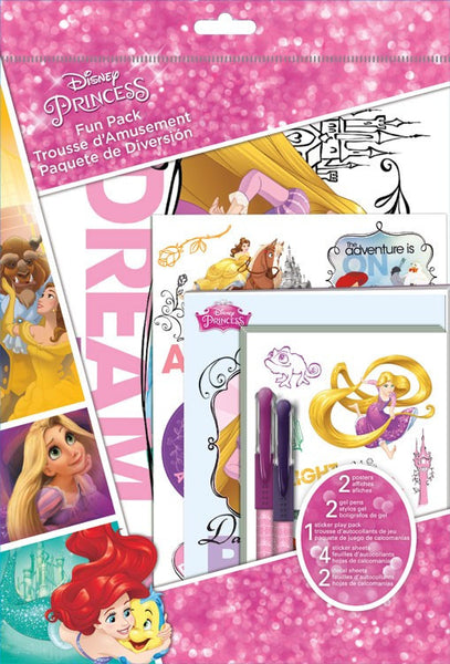 Disney Princess Theme Fun Pack Sticker,s Pens, Posters, Decals, Poster