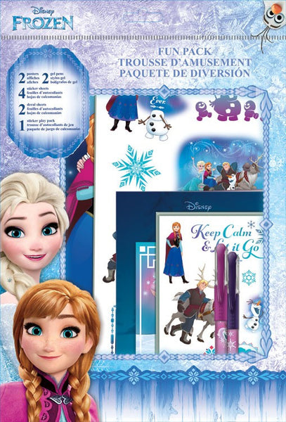 Frozen Theme Fun Pack Sticker,s Pens, Posters, Decals, Poster