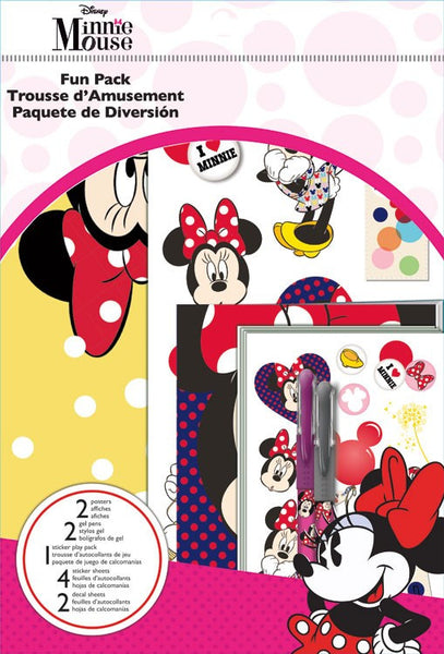 Minnie Mouse Disney Theme Fun Pack Stickers Pens, Posters, Decals, Poster