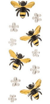 Bumblebee Bee Gemstone Rhinestone Stickers
