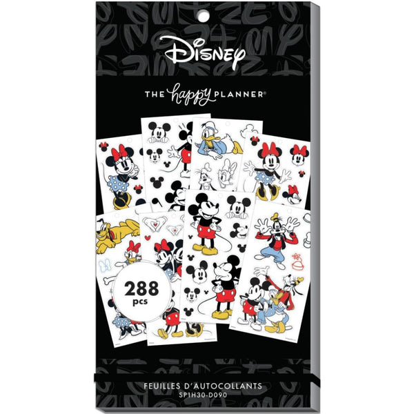 Disney Mickey Mouse Happy Planner Stickers