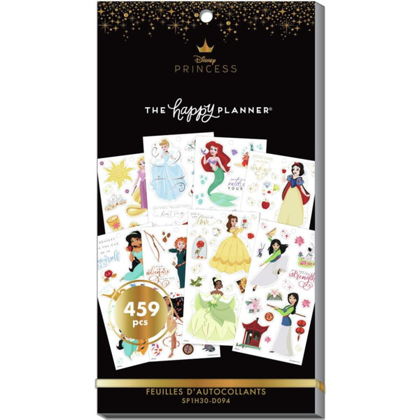 Disney Princess Happy Planner Stickers