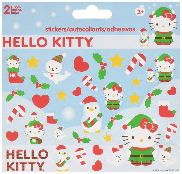 Christmas Hello Kitty Stickers