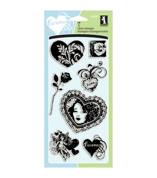 Inkadinkado Love and Hearts Stamp Set