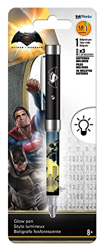 Batman vs Superman Glow Pen Light Up Pen