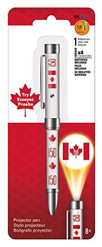 Canada Flag Projector Pen White Pen