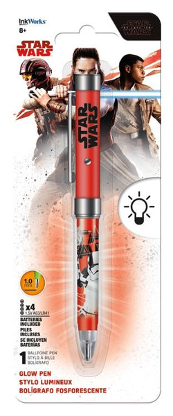 Star Wars The Last Jedi Glow Light Pen