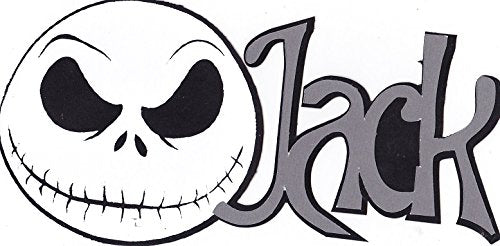 Jack Skellington Die Cut Title