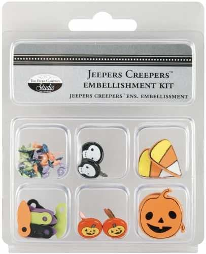 Jeepers Creepers Halloween Embellishments