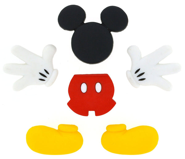 Everything Mickey Mouse Disney Character Button Embellishments