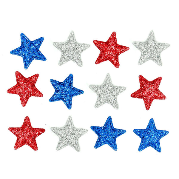 Kaboom Fourth of July Buttons Embellishments by Jesse James