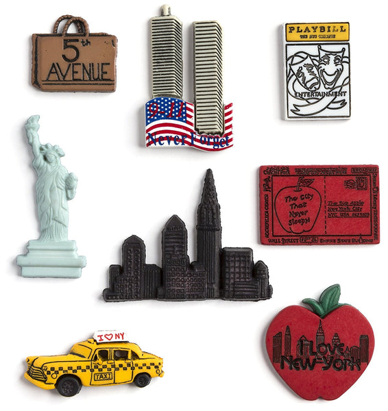 New York Sewing Buttons Embellishments