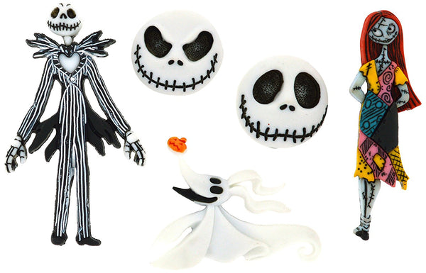 Nightmare Before Christmas Disney Character Button