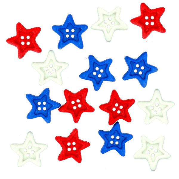 USA Forever Buttons Embellishments by Jesse James