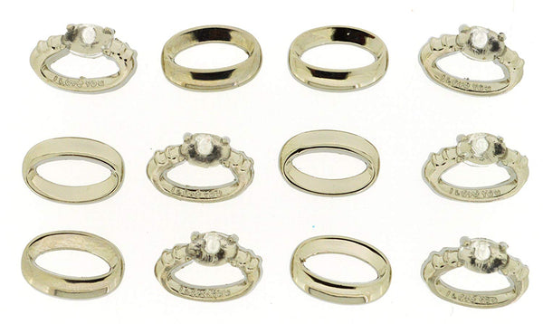 Wedding Ring Button Embellishments