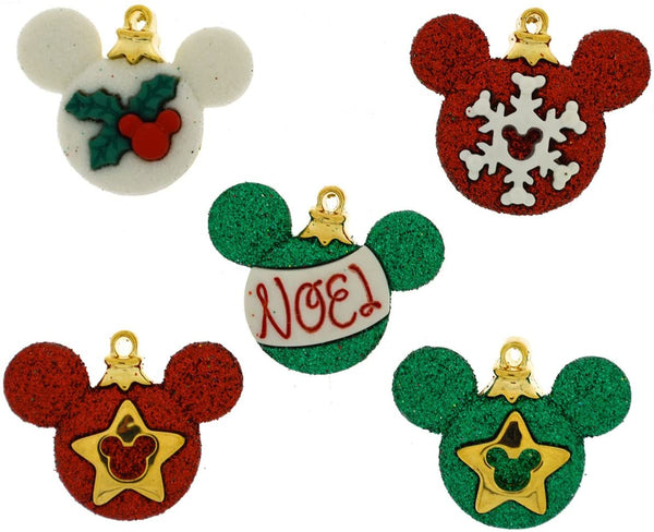 Mickey Mouse Ornaments Disney Buttons