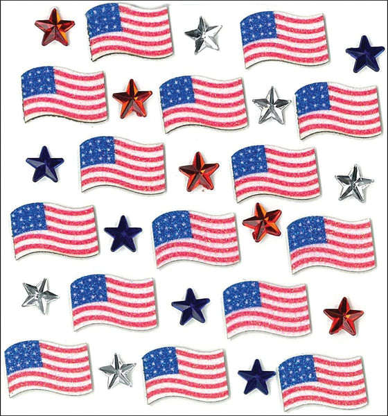 4th of July Patriotic Stickers by Jolees