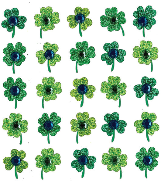 St Patricks Day Clover Shamrock Stickers by Jolees