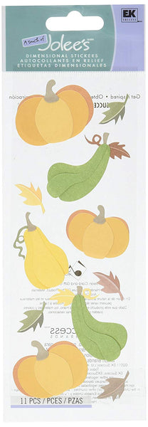 Jolees Fall Harvest Stickers
