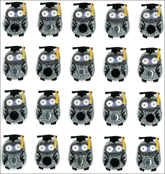 Jolees Graduation Owl Stickers Graduatin Scrapbook