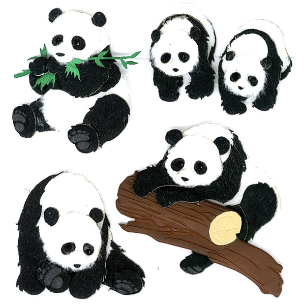 Jolees Panda Bear Stickers