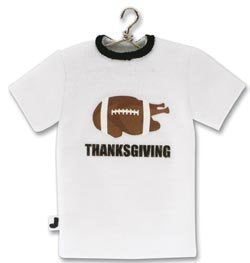 Jolees Thanksgiving Football TShirt Embellishment