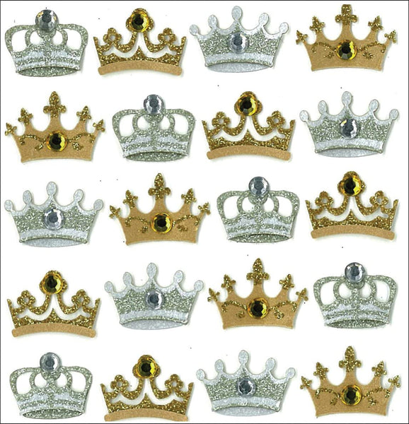 Jolees Crown Stickers Repeat