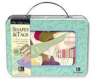 k and co shapes tags tin