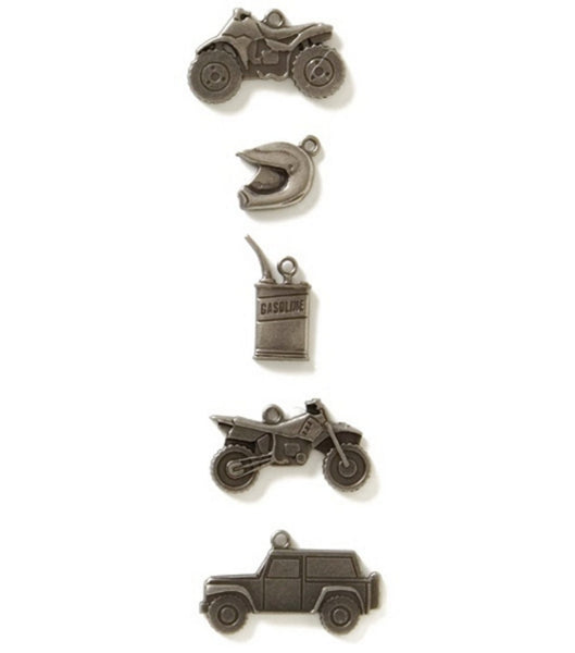 Karen Foster Off Road Mini Charms Set