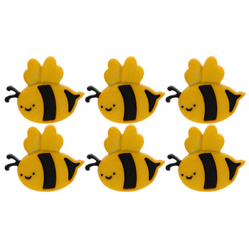 Bumblebee Bee Buttons - Set of 6