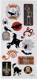 Jeepers Creepers Halloween Stickers
