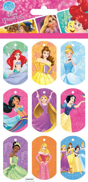 Lenticular Disney Princess Stickers