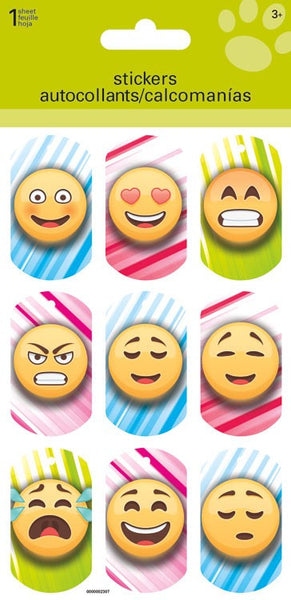 Lenticular Emojis Icon Stickers