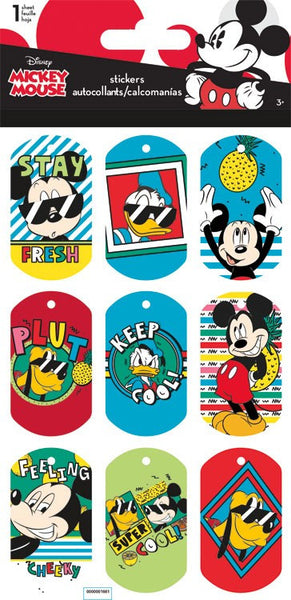 Mickey Mouse and Friends Lenticular Stickers