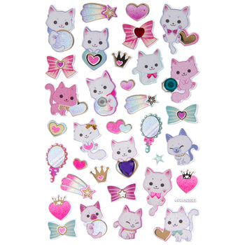 Magical Kitties Cat Stickers