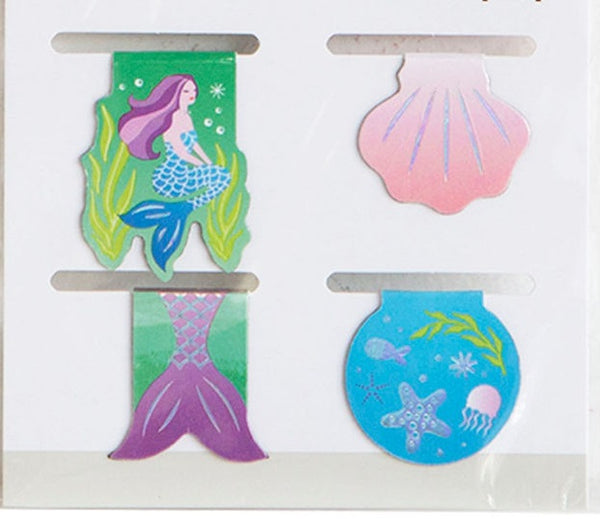 Magnetic Mermaid Bookmark Planner Accessories