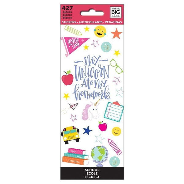 MAMBI My Unicorn Ate My Homework Planner Stickers