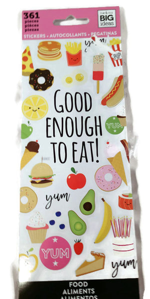 MAMBI Good Enough To Eat Food Planner Stickers
