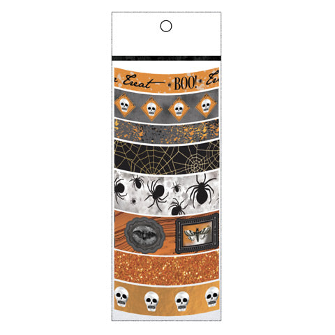Orange Patterned Halloween Washi Tape by Martha Stewart